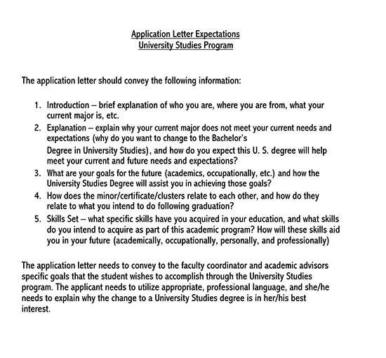 sample cover letter for job application doc