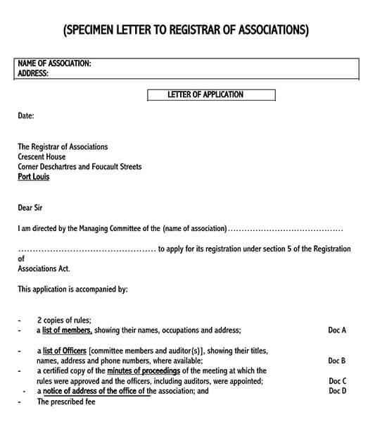 sample cover letter for job application doc 04