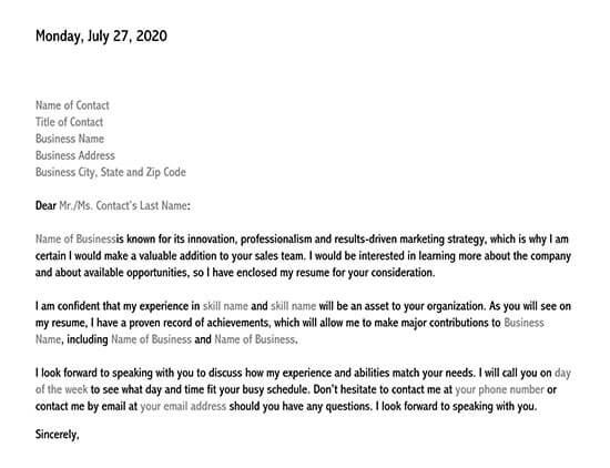 sample letter of interest for a job 01