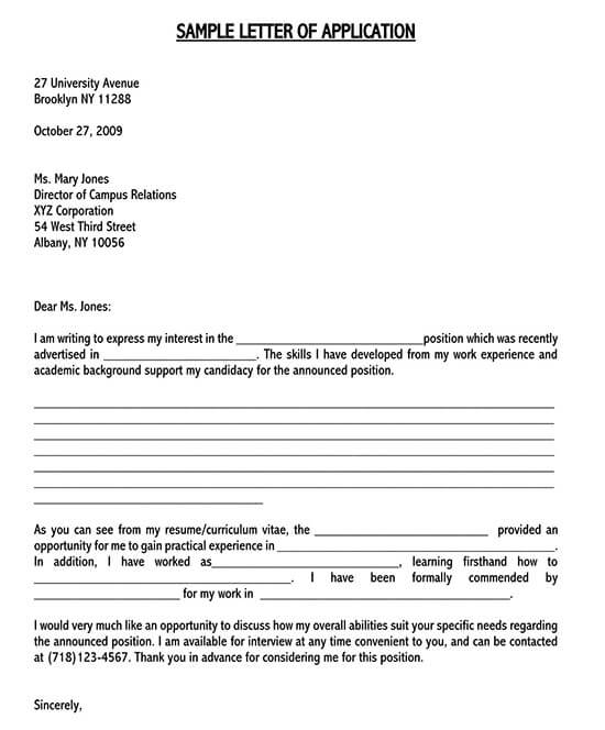 expression of interest template for business 01