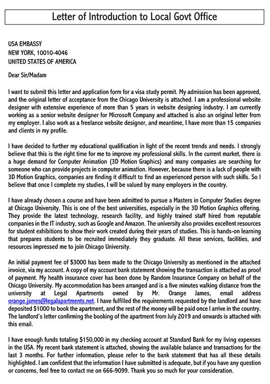 formal letter introduction sample 02