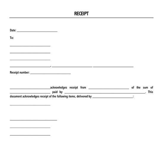 simple receipt template 01