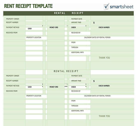 rent payment receipt pdf
