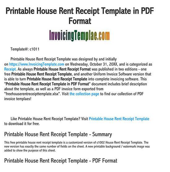rent receipt template ontario 01