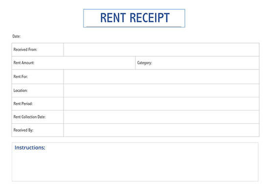 free rent receipt template word india 02