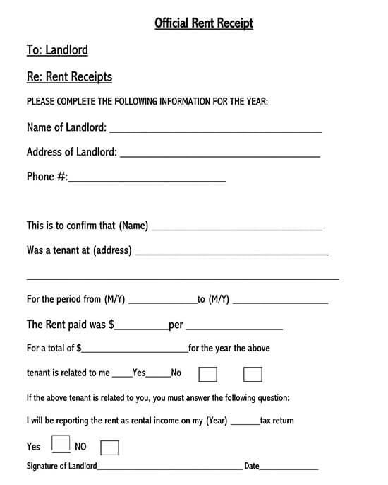 rent receipt template ontario 02