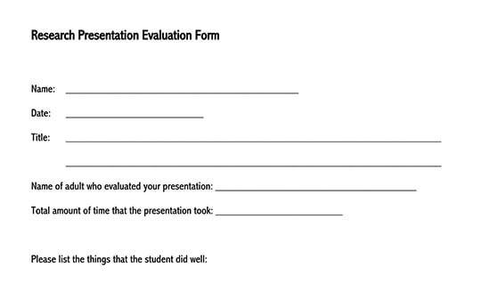 speaker presentation evaluation form 03