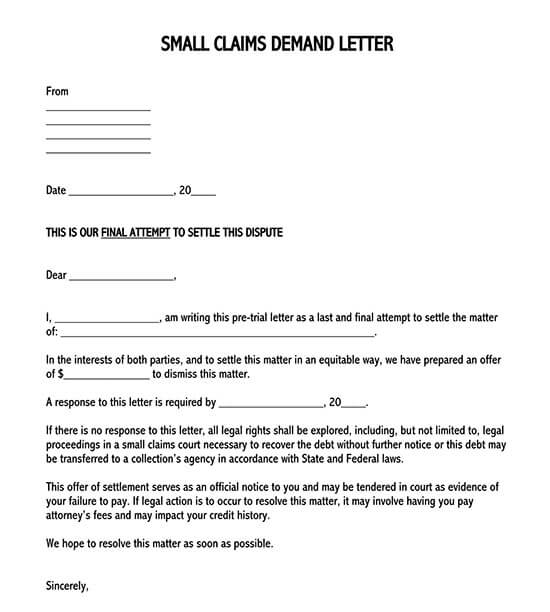 demand letter from attorney sample 02