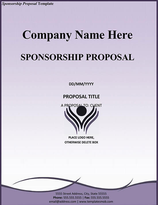 sponsorship levels template free 01