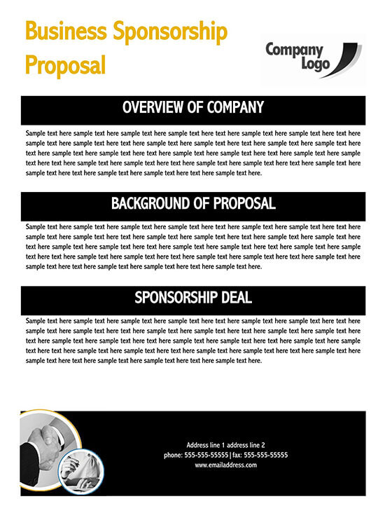 sponsorship levels template word 01