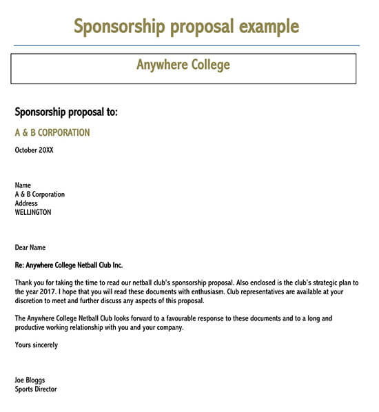how to write a sponsorship proposal 01