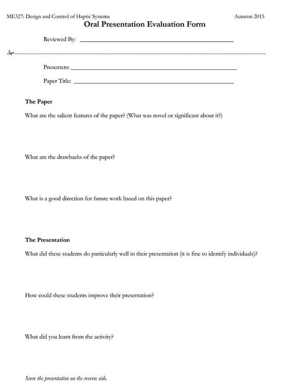 presentation evaluation questions examples 02
