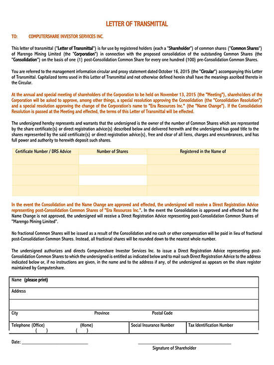 letter of transmittal template doc 01