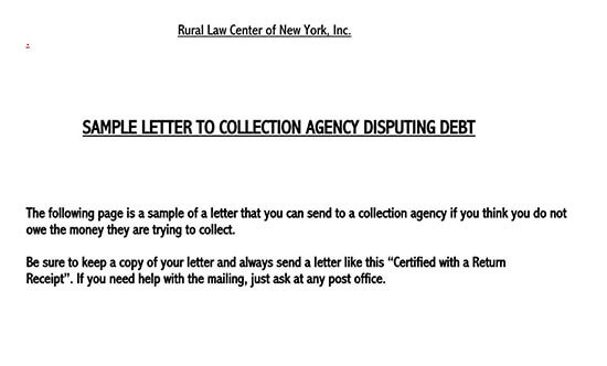 how to write a collection letter 01