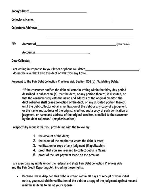 debt collection letter 01