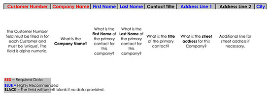 Customer Contact List Template for Excel 11