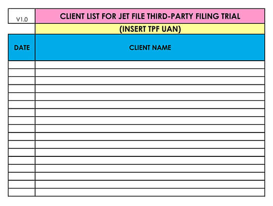 Customer Contact List Template for Excel 17