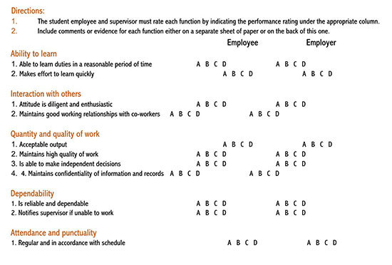 annual performance appraisal form sample 01