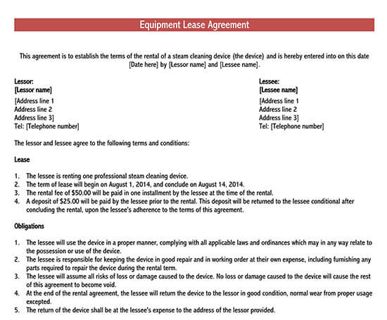 equipment rental agreement india 02