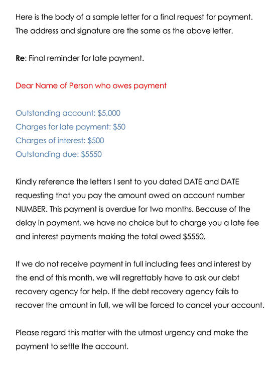Payment Reminder Template 02