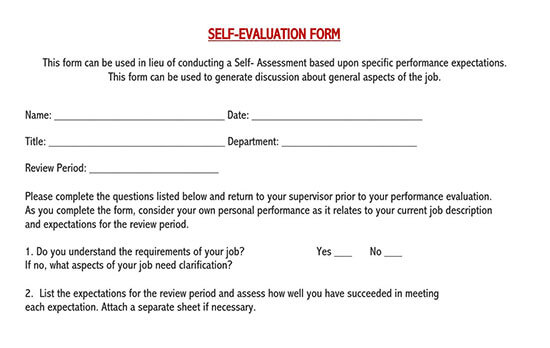 employee self evaluation form pdf 03