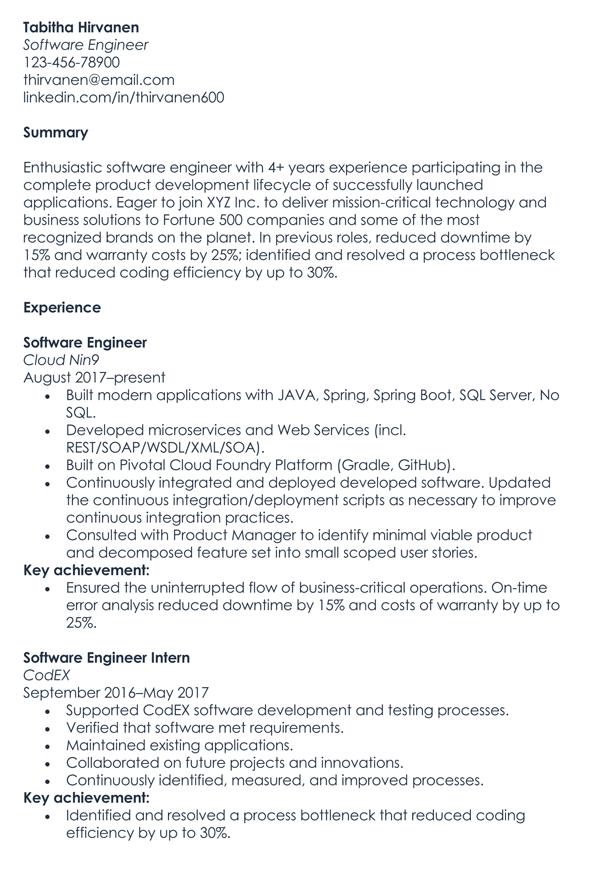 Software-Engineer-Resume