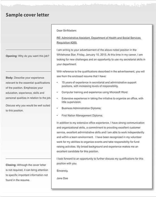 sample letter for quotation submission