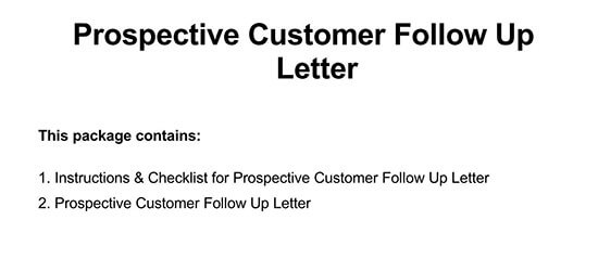 follow-up letter format