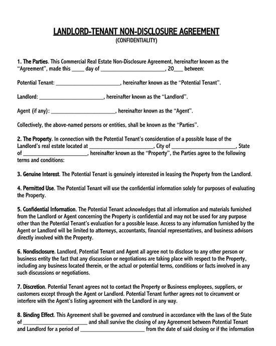 non disclosure agreement pdf 01