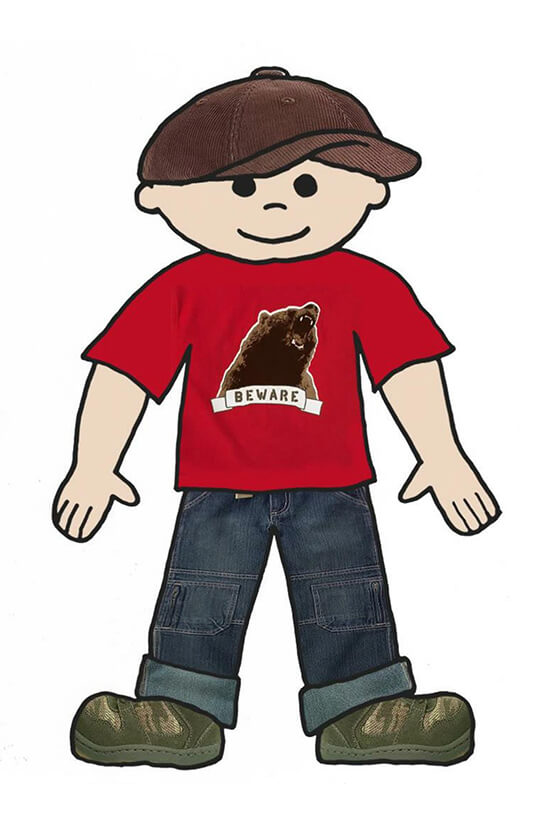 Sample Flat Stanley Template 17