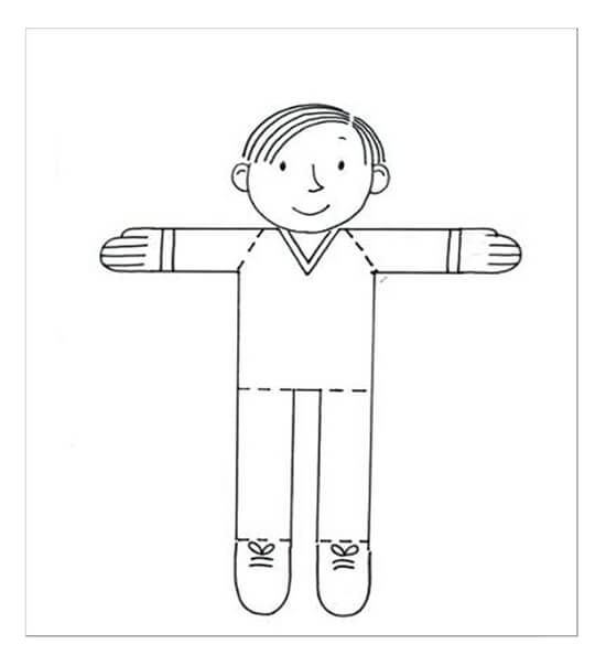 Sample Flat Stanley Template 20