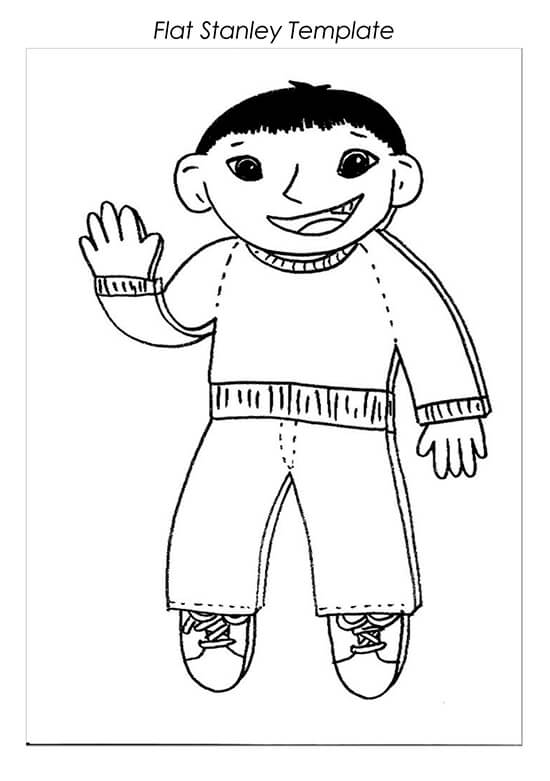 Sample Flat Stanley Template 21
