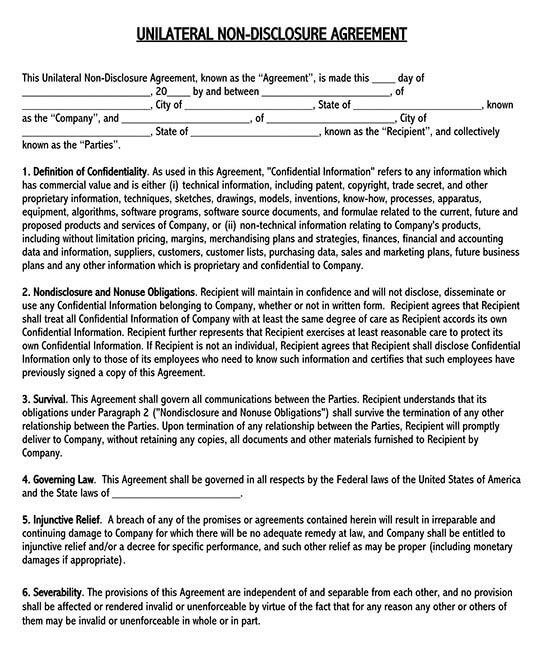 non disclosure agreement pdf 02