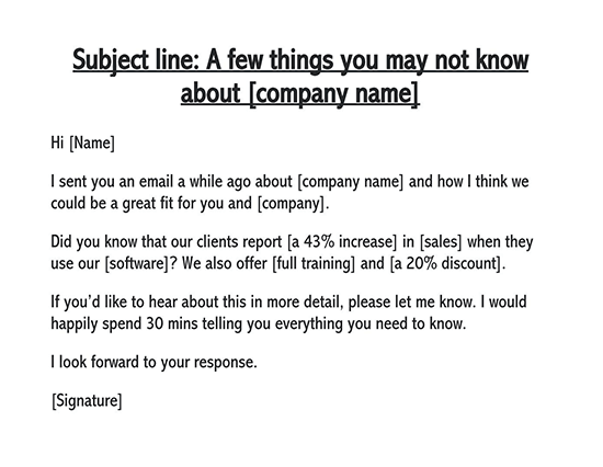 follow up email after providing service 01