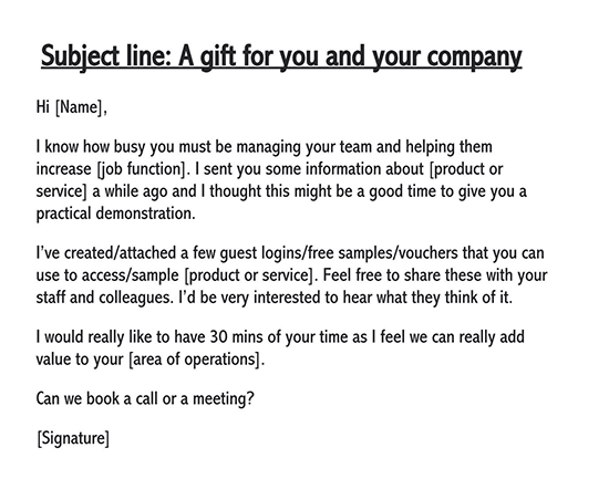 polite follow-up email sample 01
