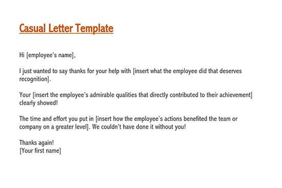letter of appreciation for service