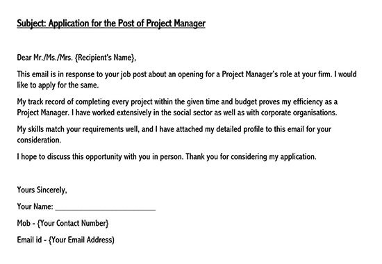 application letter for a job vacancy 01