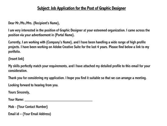 how to write an application letter for a job 01
