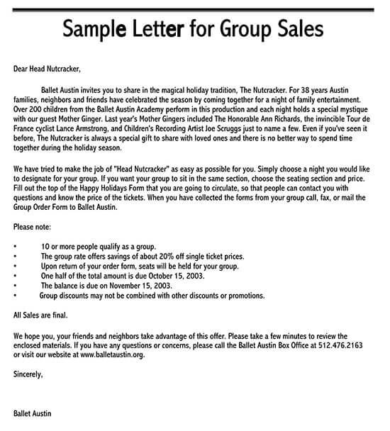 sample sales letter doc 01