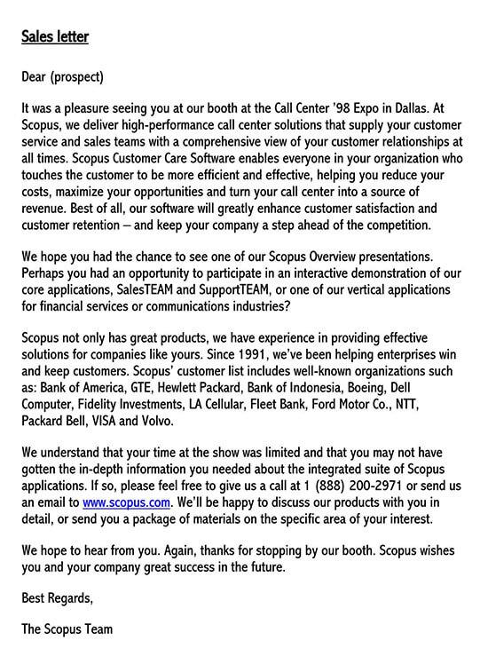 contoh sales letter 01