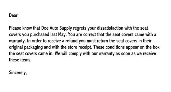 customer adjustment letter sample 02