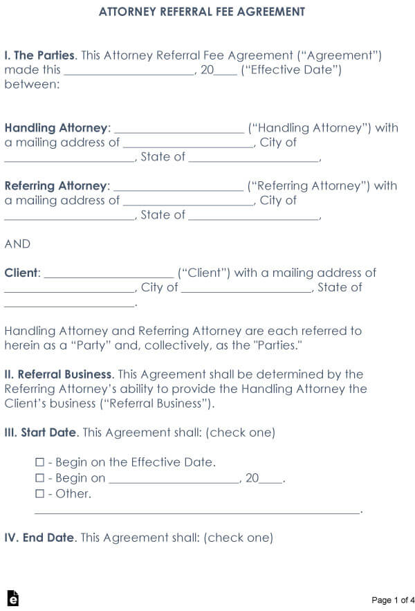 Attorney Referral Agreement 01