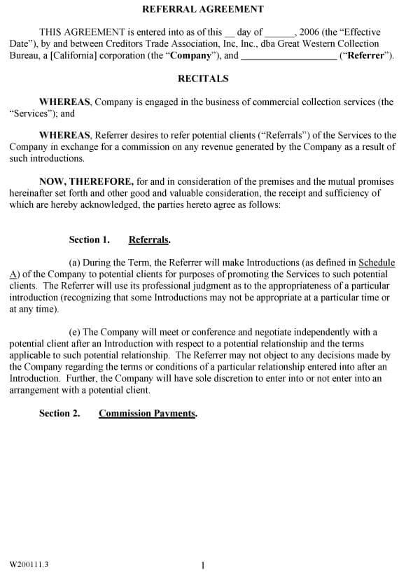 Attorney Referral Agreement 08