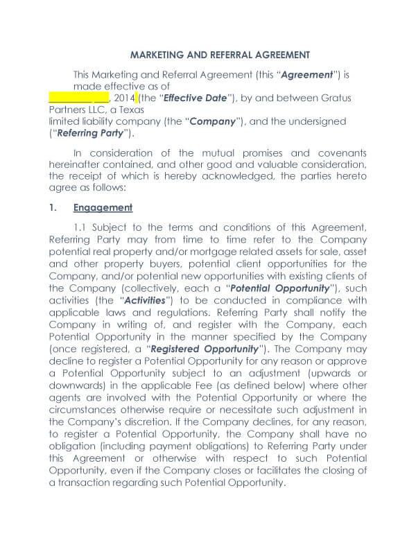 Attorney Referral Agreement 06