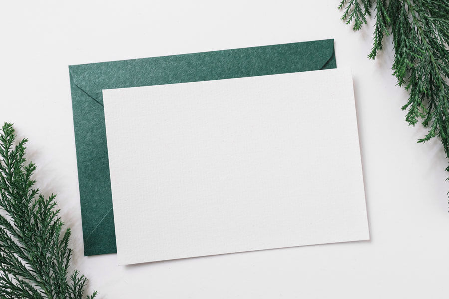 Christmas thank you letter