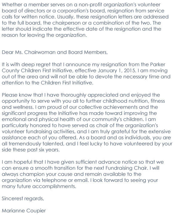Board resignation letter 03