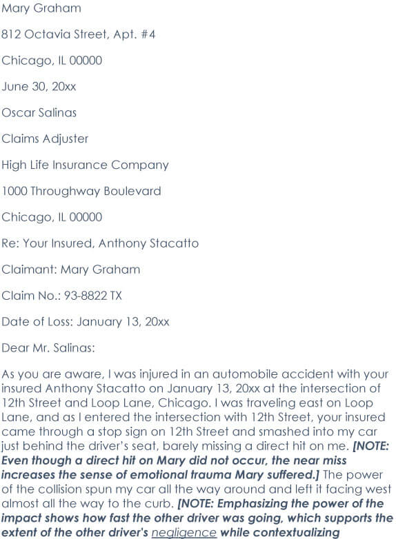 Car Accident Demand Letter 03