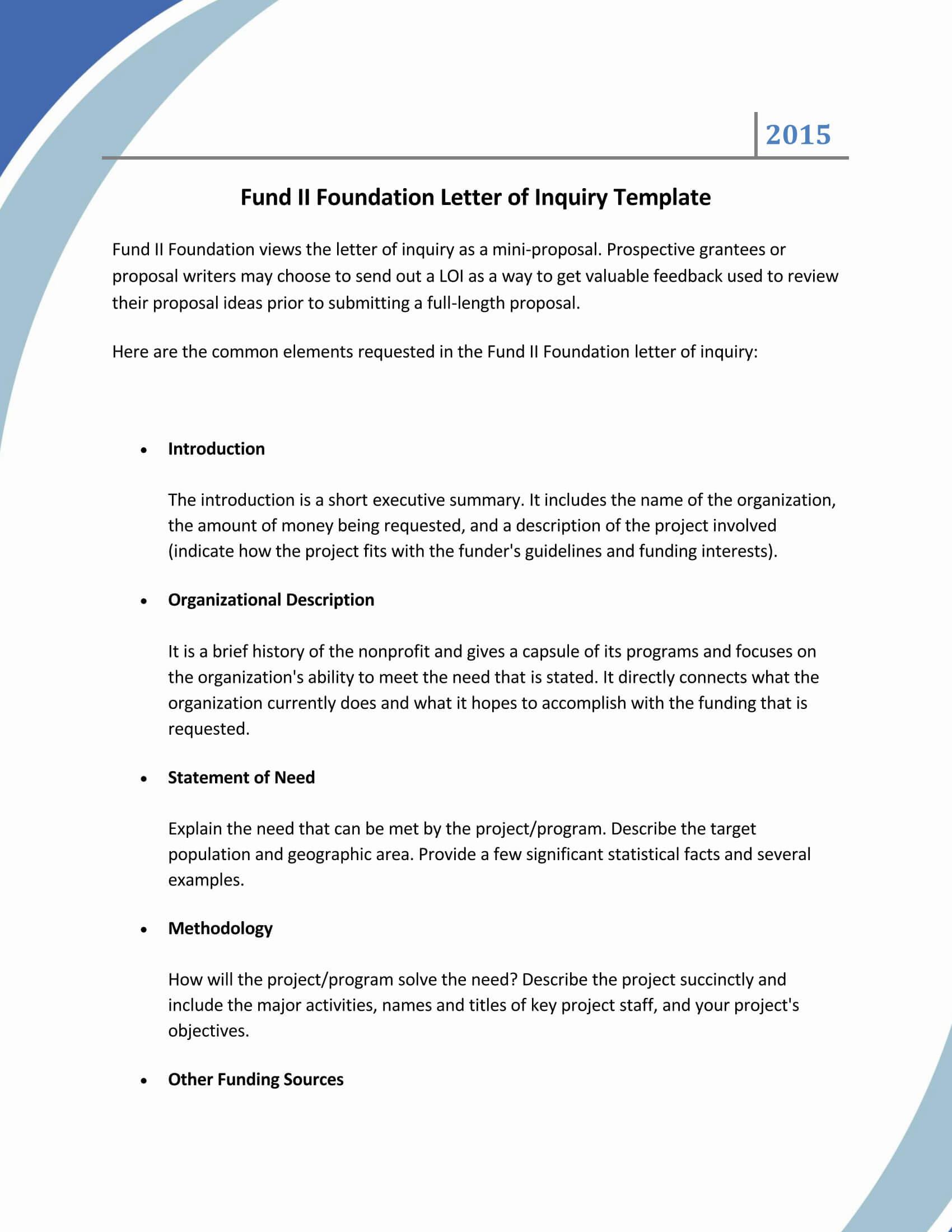 Grant Request Letter Sample 08