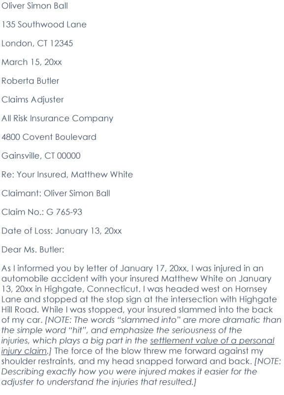Car Accident Demand Letter 07