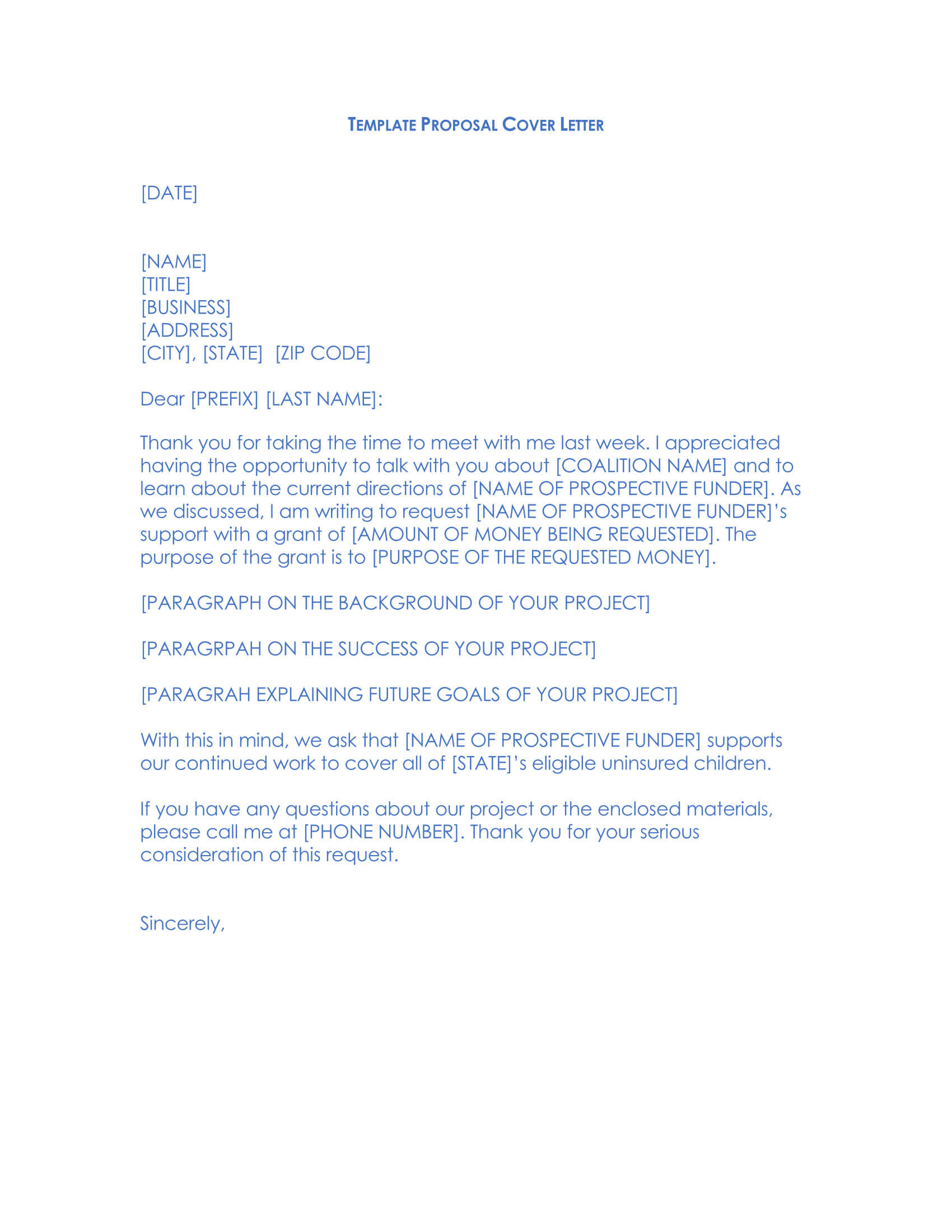Grant Request Letter 03